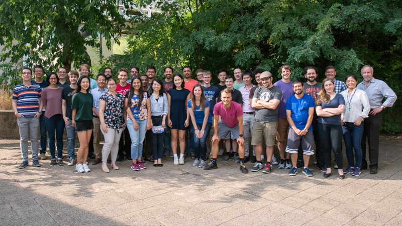 group photo of the students and staff of the software engineering program